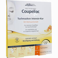 Abbildung von Medipharma Cosmetics Haut in Balance Coupeliac Tuchmasken Intensiv- Kur 1 Stück