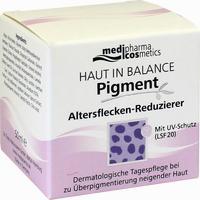 Abbildung von Medipharma Cosmetics Haut in Balance Pigment Altersflecken- Reduzierer Tagescreme 50 ml