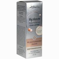 Abbildung von Medipharma Cosmetics Hyaluron Nude Perfection Getöntes Fluid Sehr Heller Hauttyp Lsf20 50 ml