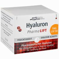 Abbildung von Medipharma Cosmetics Hyaluron Pharma Lift Tag Lsf 50 Creme 50 ml