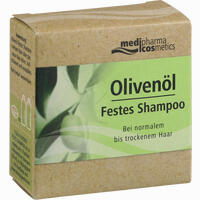 Abbildung von Medipharma Cosmetics Olivenöl Festes Shampoo  60 g