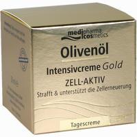 Abbildung von Medipharma Cosmetics Olivenöl Intensivcreme Gold Zell- Aktiv Tagescreme  50 ml