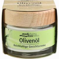 Abbildung von Medipharma Cosmetics Olivenöl reichhaltige Gesichtscreme  50 ml