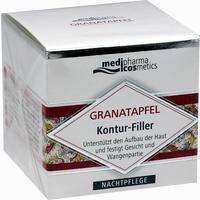 Medipharma Granatapfel Kontur-filler Nachtpflege Creme 50 ml