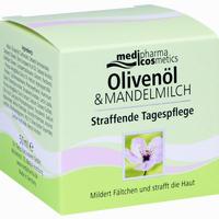 Medipharma Oliven-mandelmilch Straffende Tagespflege  Tagescreme 50 ml