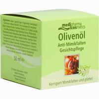 Medipharma Olivenöl Anti-mimikfalten Gesichtspflege  Creme 50 ml