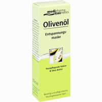 Medipharma Olivenöl Entspannungsmaske  Creme 30 ml