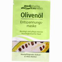 Medipharma Olivenöl Entspannungsmaske  Gesichtsmaske 15 ml