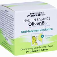 Abbildung von Medipharma Olivenöl Haut in Balance Anti- Trockenheitsfalten Creme 50 ml
