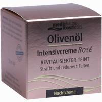 Abbildung von Medipharma Olivenöl Intensivcreme Rosé Nachtcreme 50 ml