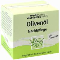 Abbildung von Medipharma Olivenöl Nachtpflege Creme 50 ml
