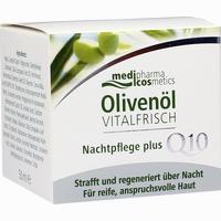 Abbildung von Medipharma Olivenöl Vitalfrisch Nachtpflege Creme 50 ml