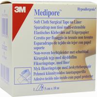 Abbildung von Medipore Hypoallergenes Fixiervlies 5cmx10m  Pflaster 1 Stück