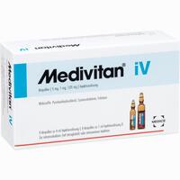 Medivitan Iv Ampullenpaare 8 Stück