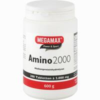 Megamax Amino 2000 Tabletten 300 Stück