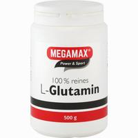 Megamax L-glutamin 100% Reines Pulver  500 g
