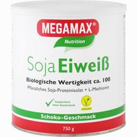 Megamax Soja Eiweiss Schoko  Pulver 750 g