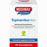 Megamax Topinambur Active Kautabletten 105 Stück