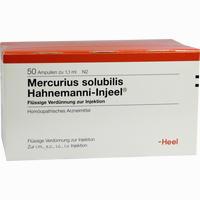 Mercurius Sol Hahn Inj  Ampullen 50 Stück