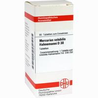 Mercurius Solubilis Hahnemanni D30  Tabletten 80 Stück
