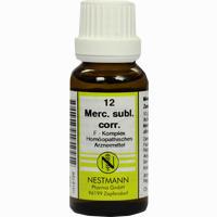 Mercurius Subl.corr. F Komplex 12  Dilution 20 ml