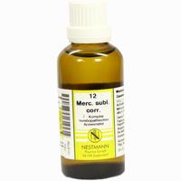 Mercurius Subl.corr. F Komplex 12  Dilution 50 ml
