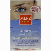 Merz Spezial Augen Maske  Gesichtsmaske 4X1 ml