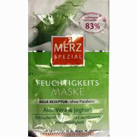 Abbildung von Merz Spezial Feuchtigkeitsmaske Aloe Vera&joghurt  Gesichtsmaske 2X7.5 ml