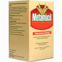 Abbildung von Metamucil Kalorienarm Orange  Pulver 30X5.8 g