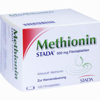 Methionin Stada 500mg  Filmtabletten 100 Stück