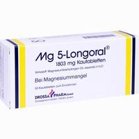 Mg 5 Longoral  Kautabletten 50 Stück