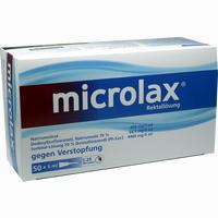 Microlax  Klistier Johnson&johnson otc 50X5 ml