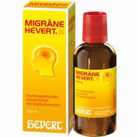 Migräne Hevert N  Tropfen 100 ml