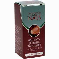 Miracle Nails überlack Schnelltrockner  Tinktur 8 ml