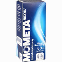 Abbildung von Mometahexal Heuschnupfenspray 60 Sprühstöße Nasenspray 10 g
