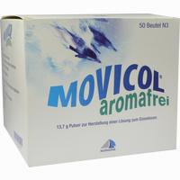Abbildung von Movicol Aromafrei Pulver 50 Stück