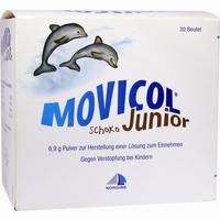 Abbildung von Movicol Junior Schoko Pulver zur Herstellung einer Lösung Zum Einnehmen  30 x 6.9 g