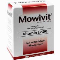Abbildung von Mowivit 600 Kapseln 50 Stück