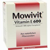 Abbildung von Mowivit 600 Kapseln 150 Stück