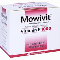 Mowivit Vitamin E 1000  Kapseln 100 Stück