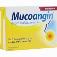 Mucoangin Waldbeere 20 Mg Lutschtabletten   18 Stück