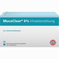 Mucoclear 6% Nacl Inhalationslösung   60X4 ml