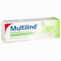 Abbildung von Multilind Heilsalbe mit Nystatin Paste 50 g