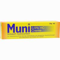 Abbildung von Muni 0.5% Hc Creme  30 g
