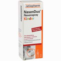 Abbildung von Nasenduo Nasenspray Kinder  10 ml