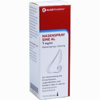 Abbildung von Nasenspray Sine Al 1 Mg/Ml 10 ml