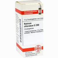 Abbildung von Natrium Chlorat D200 Globuli 10 g