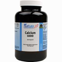 Naturafit Calcium 1000  Kapseln 180 Stück