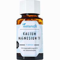 Naturafit Kalium Magnesium Tf  Kapseln 75 Stück