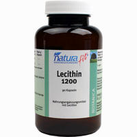 Naturafit Lecithin 1200  Kapseln 90 Stück
